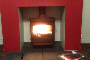 ACR Earlswood Stove install