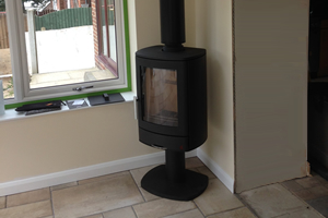 ACR Neo 1 wood burning Stove install