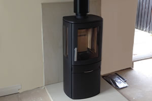 ACR Neo 3 wood burning Stove install
