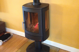 ACR Neo 3p wood burning Stove install