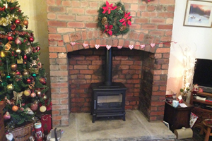 ACR rowendale wood burning Stove install