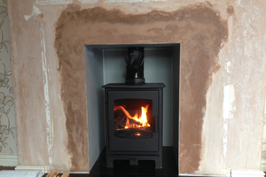 Broseley Desire wood burning Stove install